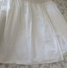 Simply Shabby Chic Dust Ruffle Bed Skirt~White~King