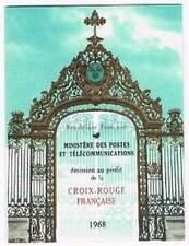 Frankrijk booklet postfris 1968 MHN 1647-1648 - Rode Kruis / Red Cross (K022)