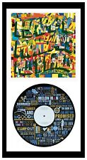 HAPPY MONDAYS - MEMORABILIA - Step On VINYL Art + COVER - Ideal Gift
