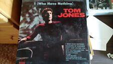 """Tom Jones """"I (Who Have Nothing)"""" record"""