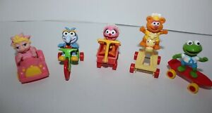 McDonald's Happy Meal Promotional Toy Muppet Babies Set 1986