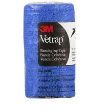 3M Vetrap 4 Inch x 5 Yards Blue Vet Wrap VetWrap Dog Horse tack