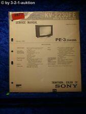 Sony Service Manual KV 2230FE (#2877)