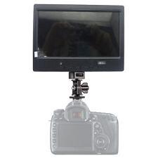"7""inch TFT LCD colour Monitor video screen RCA VGA HDMI input for camera FPV POS"