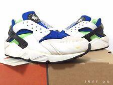 1999 DS Nike Air Huarache Le Scream Green OG Original Stussy Slate ACG Max Light