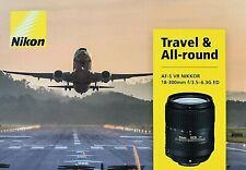 NIKON AF-S VR Nikkor 18-300mm F/3.5-6.3G ED Objektiv Lens, 67mm Gewinde, Schwarz