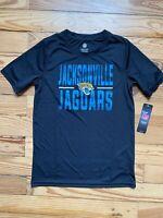 Youth Jacksonville Jaguars Black Ground Control T-Shirt