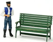 F/G scale BANTA MODEL WORKS #914 Station Bench, 2 per kit