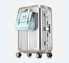 "24"" Travel Lightweight Aluminum-Magnesium Alloy Universal Wheel Luggage Suitcase"