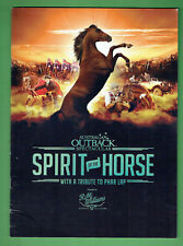 #T74. 2011 Australian Outback Spirit Of The Horse Propgram