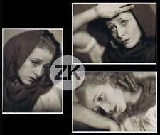 ROSINE DEREAN Orphelines MAURICE TOURNEUR Pathé Natan Julian MANDEL 3 Photos '33