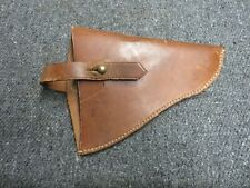 WWI-WWII BRITISH NCO WEBLEY REVOLVER HOLSTER-BROAD ARROW MARKED