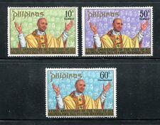 Philippines 1144-1145,C105,MNH.Michel 1016-1018. Pope Paul VI,75th birthday,1972