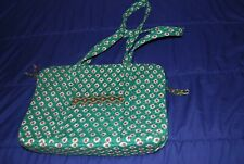 """Vera Bradley Quilted Greenfield """"110 Bag"""" Tote and change purse NWOT"""