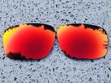 Polarizados Rojo Intenso Personalizado Reflectante Repuesto Oakley Plata Lentes