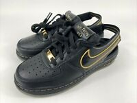 Nike Air Force 1 VTF GS Black Metallic Gold CJ7158-001 Size 5Y Women's 6.5 New