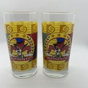 Set Of 2 Disney Authentic Goofy Glassware