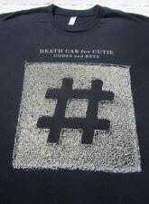 DEATH CAB FOR CUTIE 2011 tour LARGE concert T-SHIRT codes and keys