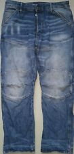 G-STAR ELWOOD 5620 DECONSTRUCTED 3D RELAXED W34/L32 DESiGNER JEANS