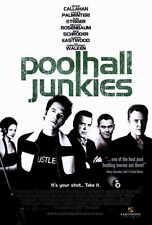 POOLHALL JUNKIES Movie POSTER 27x40 Chazz Palminteri Rick Schroder Rod Steiger