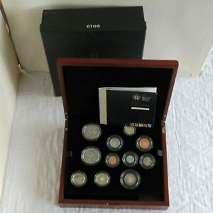 UK 2012 ROYAL MINT 10 COIN PREMIUM PROOF SET - complete