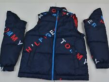 NWT Mens Tommy Hilfiger Puffer Jacket Outerwear Primaloft...