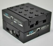 Newport 460pd Xy Modular Peg Joining Dovetail Aluminum Linear Stages Used