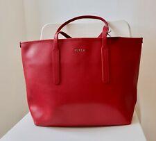 Furla Ariana Saffiano Leather Tote bag red new