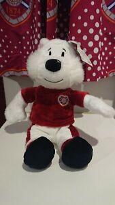 Official Jock the Jambo Teddy Football Mascot, Hearts, HMFC, Heart of Midlothian
