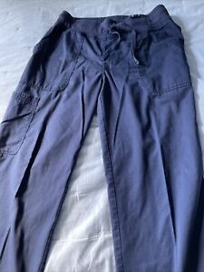 Koi navy scrub pants medium tall