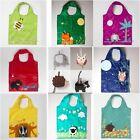 Animal Folding Shopping Bag  Eco Friendly Ladies Gift Foldable Reusable Tote