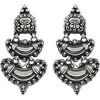 Attractive Design!! 925 Sterling Silver Earrings