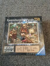 Ravensburger Puzzle 759 Exit Puzzle The Witches Kitchen