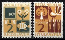 2302 YUGOSLAVIA 1959 CHILDREN WEEK MNH