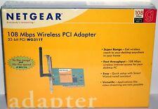Netgear WG311T Super G™108Mbps Wireless PCI Adapter