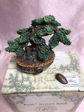 Boyds Bears Treasure Box Ms Wang's Bonsai Tree