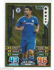 2015 / 2016 EPL Match Attax Gold Limited Edition (LE1) Diego COSTA Chelsea