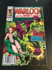 Warlock And The Infinity Watch#12 Awesome Condition 8.0(1993) Drax!!