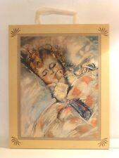 """Renoir Baby Image 10 1/2"""" x 13"""" Linen Wall Art, Terra Traditions,Inc., U.S.A."""