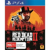 Red Dead Redemption 2 PS4 Playstation 4 (PAL) New!