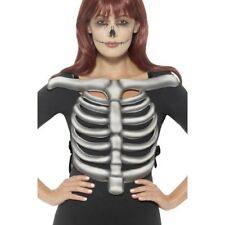 Skeleton Rib Cage Top Unisex Halloween Fancy Dress Costume Accessory