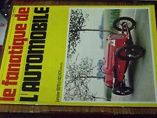 10µµ Revue Fanatique Automobile n°112 Darracq Epopée VP Citroen SM Delahaye