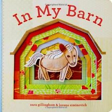 In My Barn by Sara Gillingham (2012, Board Book)
