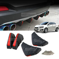 Bumper Diffuser Molding Cover Point Garnish Trim for CHEVY 2011-2017 Sonic Aveo