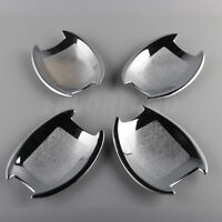 4X  Door Handle Cup Bowl Bezel Trim For Hyundai Sonata 2011 12 13 14 Chrome