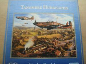 "Gibson Jigsaw Puzzle 1000 ""Tangmere Hurricanes"" G 523  Nicholas Trudgion"