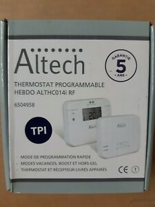 3  Thermostat Altech  Hebdo ALTCH  C014i RF  AMBIANCE  PROGRAMMABLE