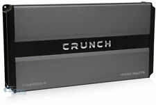 Crunch PD4000.4 4000 Watt RMS 4-Channel Power Car Audio Amplifier Class AB Amp