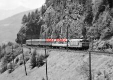 PHOTO  ITALY - FS LOCO NO E633 024 NR BOLZANO AUG 87
