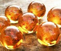 7 JP Anime DragonBall Z Stars Crystal Ball Collection Set with Gift Box GR